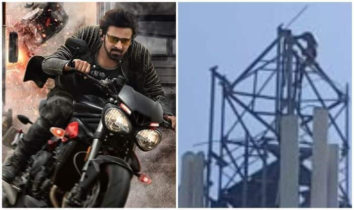 Prabhas fan threatens to jump off a mobile tower if meeting not arranged with Saaho actor