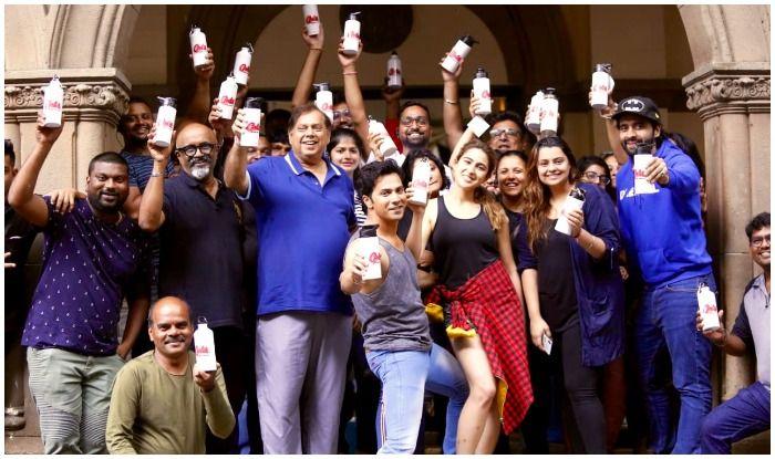 Jackky Bhagnani and producer-sister Deepshikha DDeshmukh turn Varun Dhawan's Coolie No. 1 sets plastic-free