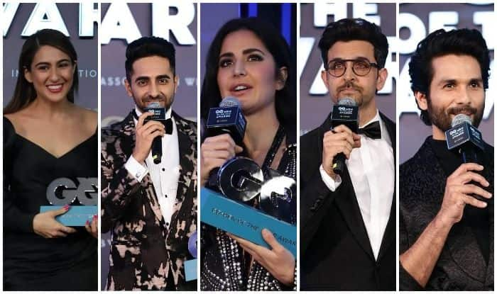GQ Men of the Year Awards 2019 Winners List: Sara Ali Khan-Ayushmann Khurrana-Katrina Kaif And Others Win Big at Starry Night