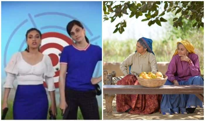 Bhumi Pednekar and Taapsee Pannu gear up for Udta Teetar song from Saand Ki Aankh