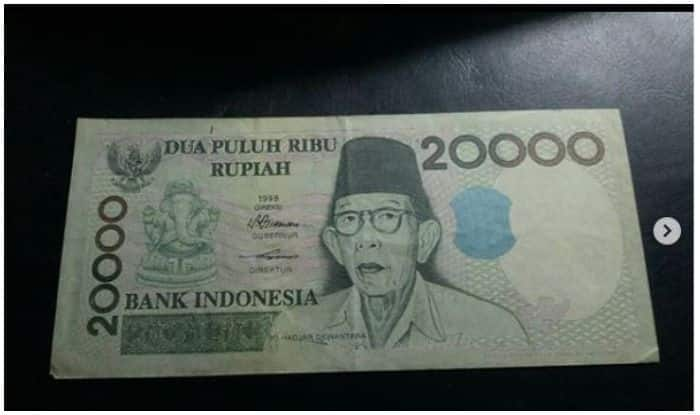 Ganesh Chaturthi Special: Why is Ganpati Bappa's Picture on Indonesian Currency Note?
