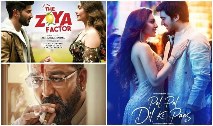 The Zoya Factor, Pal Pal Dil Ke Paas and Prassthanam posters