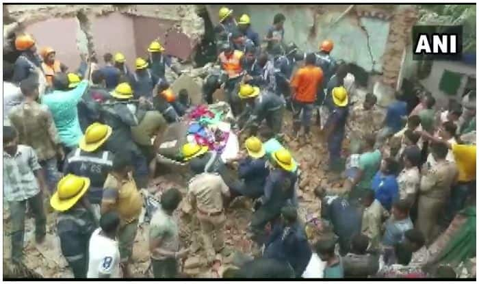 Gujarat: Three-storey Building Collapses in Amraiwadi Area in Ahmedabad
