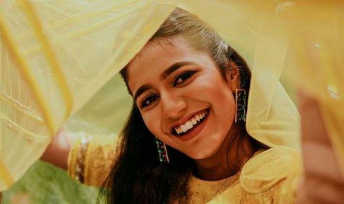 Malayalam Bombshell Priya Prakash Varrier's Yellow-Golden Ethnic Look For Onam is Amazing -Check Pictures
