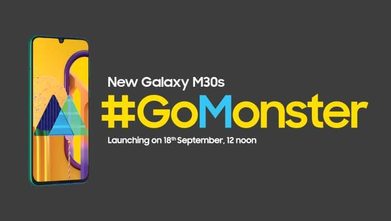 Samsung Galaxy M30s launching on September 18 on Amazon India