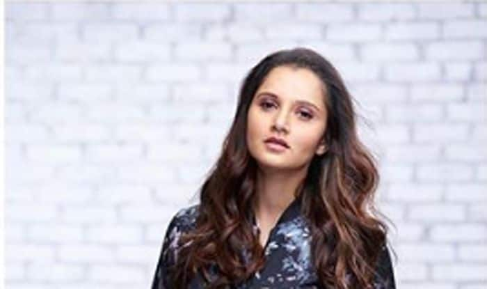 Getting back in shape after pregnancy has been Sania Mirza's focus recently and the Indian tennis star has been grinding it out in the gym to drop the weight.