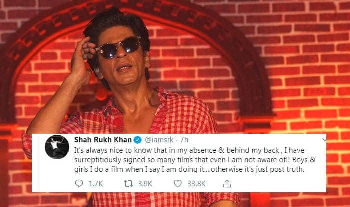 Shah Rukh Khan Breaks Silence on Rumours of His Next YRF Film With Ali Abbas Zafar