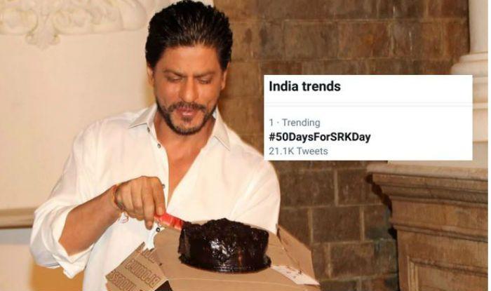 #50DaysForSRKDay: Shah Rukh Khan Fans on Twitter Begin Countdown For His Birthday