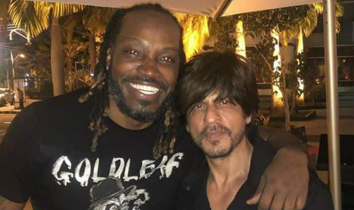 Chris Gayle Shares a Happy Picture With Shah Rukh Khan And Says 'Nuff Respect'- Check Out