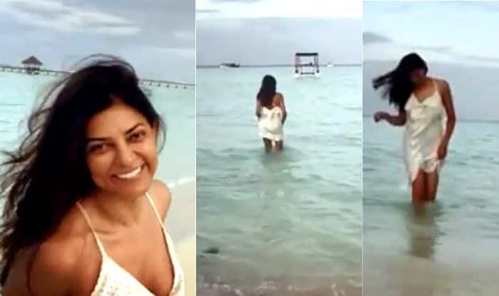 Sushmita Sen Looks Hot in Her Cool Post About Happy Mornings, Beach-Walks And Goodness of Nature – Viral Video