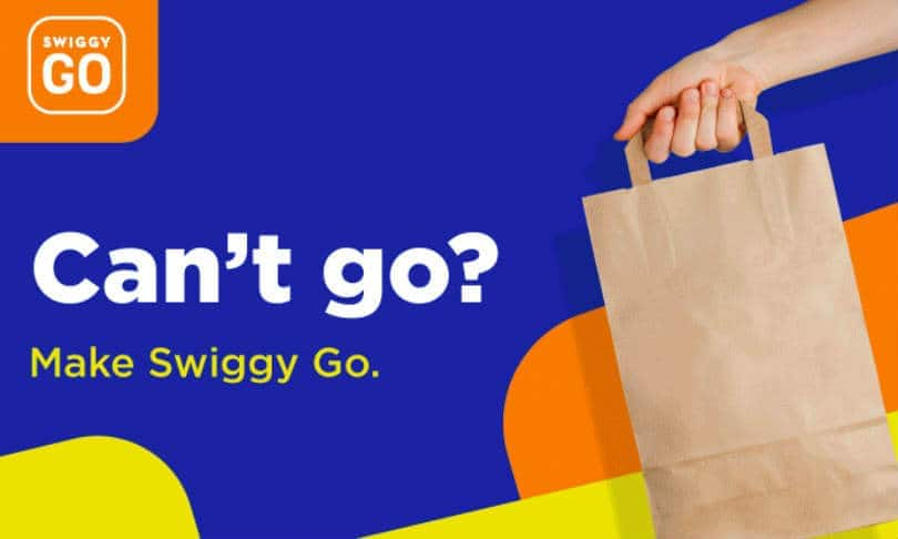 Swiggy Go, new instant pick up and drop service launched