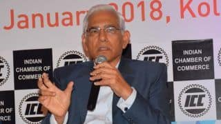 Vinod Rai Confirms October 23 Will be CoA's Last Day in Office