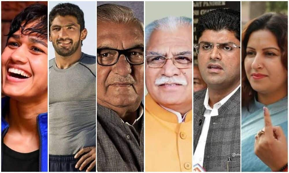 Haryana Assembly Elections 2019: From Khattar to Phogat, Here's a Look at the Star Candidates