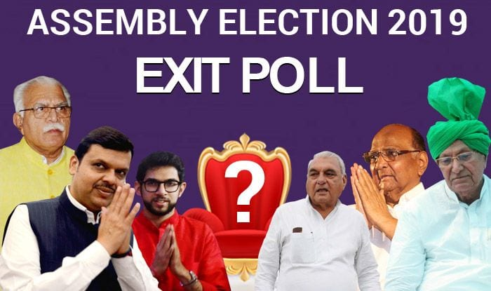 All Eyes Set on Exit Polls as Voting For Maharashtra, Haryana Assembly Election 2019 Concludes