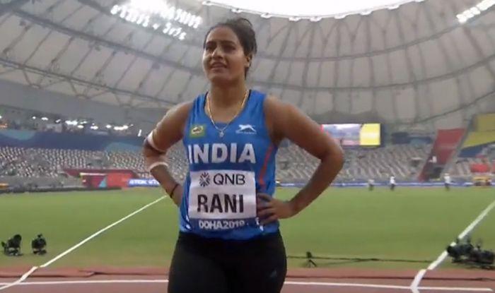 Annu Rani javelin throw