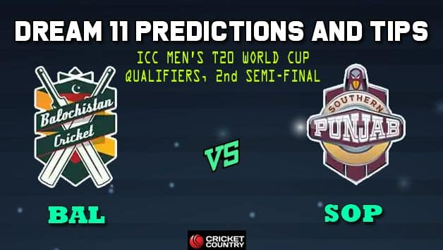 Live cricket score, ball by ball commentary, BAL vs SOP Balochistan vs Southern Punjab Pakistan T20 Cup National T20 Cup Semi-final