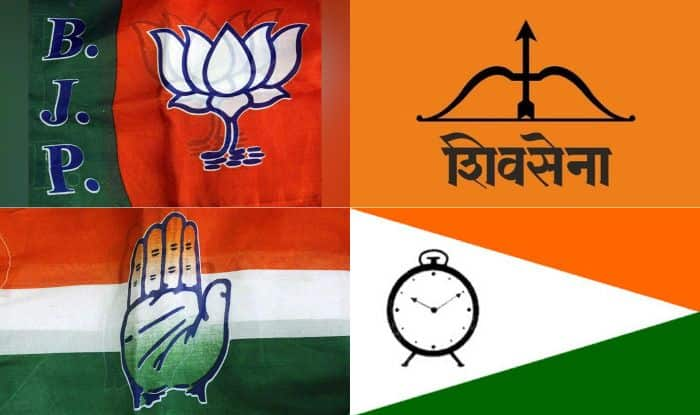 Maharashtra Assembly Election 2019, Assembly Elections 2019, Bharatiya Janata Party, Shiv Sena, Congress, Nationalist Congress Party