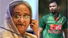 Bangladesh PM Requests Skipper Mortaza to Mediate Between Players And Board