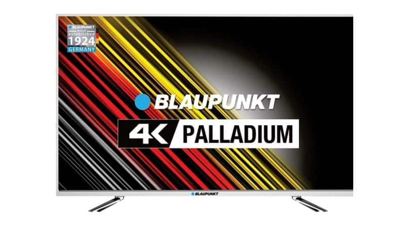 Blaupunkt 'Palladium Series' 4K ultra-HD LED TV launched in India, price starts at Rs 19,999