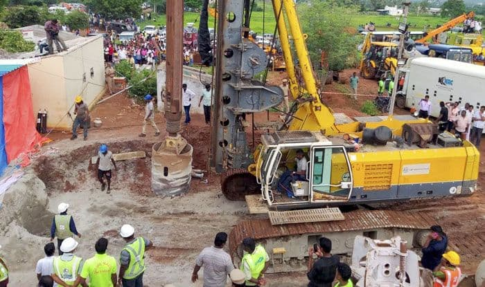 Tamil Nadu, Boy trapped in borewell, Tiruchirapalli, Rescue operation