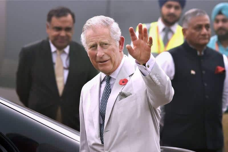 UK's Prince Charles to Visit India on November 13, His 10th Official Visit to the Country