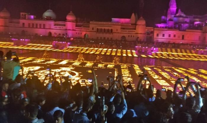 Ayodhya 'Deepotsav' Enters Guinness World Records For Illuminating 5.51 Lakh Earthen Lamps