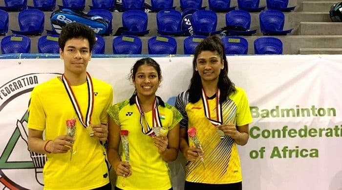Kuhoo Garg, Dhruv Rawat Pocket Mixed Doubles Title at Egypt International 2019