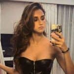 Disha Patani Looks Super Hot in Black Top And Denim in Her Latest Mirror Selfie