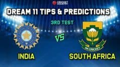 India vs South Africa Dream11 Team Prediction: Captain and Vice Captain For 3rd Test