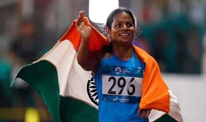 Dutee Chand, Dutee Chand Record, Dutee Chand sister, Dutee Chand Age, Dutee Chand Wiki, Dutee Chand Family, Dutee Chand Video, Dutee Chand Stats, Dutee Chand Latest News, national open athletics championships 2019, national open athletics championships 2019 dates, national open athletics championships 2019 results, national open athletics championships wiki, national open athletics, Latest Sports News, Dutee Chand wins 100m gold, Dutee Chand wins 200m Gold