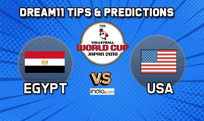 Dream11 Egypt USA Volleyball World Cup predictions