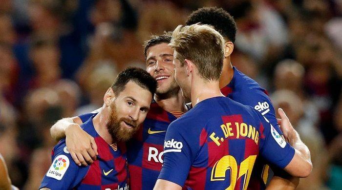 Messi Returns To Goal-scoring Form As Barcelona Beat Sevilla 4-0 at Camp Nou