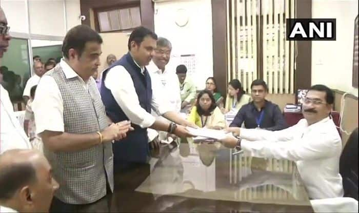 Maharashtra Assembly Elections: 'Will Win Comprehensively', Says CM Fadnavis at Nomination Filing