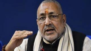 'Unacceptable', Union Minister Giriraj Singh Hits Back at Rahul Gandhi Over His 'Not Savarkar' Remark