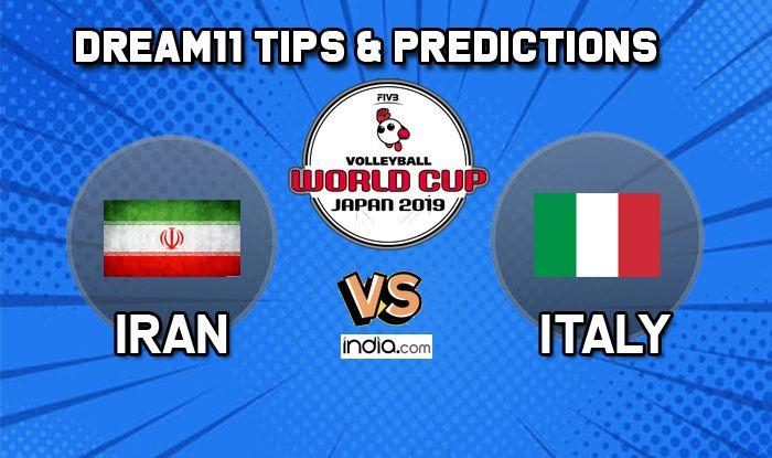 dream11 team Iran vs Italy volleyball