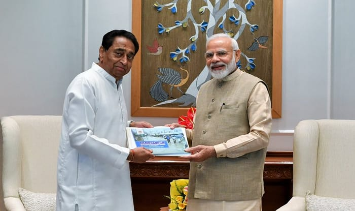 Kamal Nath Meets PM Modi, Seeks Central Assistance For Flood Victims in The State