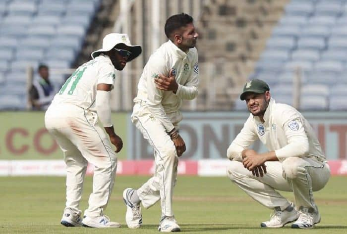 Injured Keshav Maharaj Ruled Out Of Third India-South Africa Test, George Linde Named Replacement
