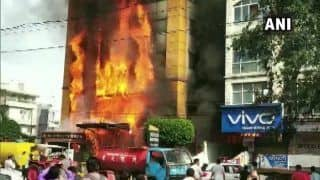 Indore: Massive Fire Breaks Out at a Four-storey Hotel, no Casualty so Far