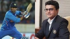 Don't Know What's In MS Dhoni's Mind, Will Have A Word With Him Soon: Sourav Ganguly