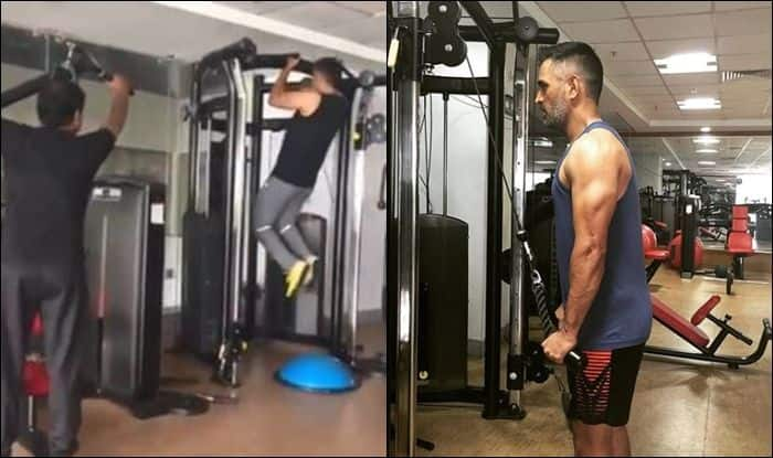 MS Dhoni latest news, MS Dhoni age, MS Dhoni fitness, MS Dhoni workout, Indian Cricket Team, Cricket News, Fitness Goals, Gym training, MS Dhoni age, MS Dhoni wife, MS Dhoni sixes, MS Dhoni helicopter shot, former India captain MS Dhoni, MS Dhoni stumping, MS Dhoni retirement, Fitness goals, gym, Workout