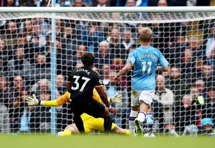 English Premier League: Wolves Stun Defending Champs Manchester City With 2-0 Win at Etihad