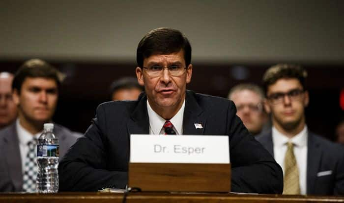 US forces, Syria, Iraq, Iraqi military, Iraqi Joint Operations Command, Mark Esper