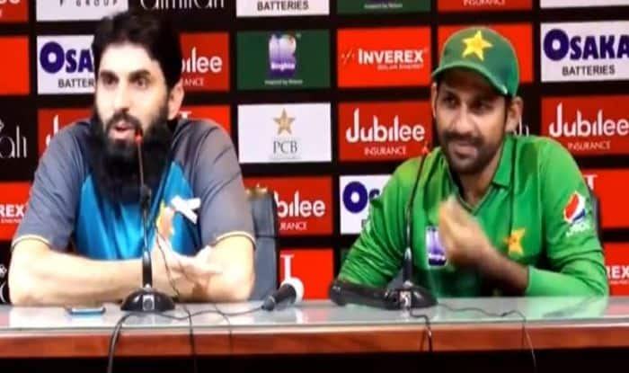 Misbah-ul-Haq latest news, latest news Misbah-ul-Haq, Misbah-ul-Haq age, head coach Misbah-ul-Haq, chief selector Misbah-ul-Haq, Misbah-ul-Haq wife, Sarfaraz Ahmed, latest news, latest news Sarfaraz Ahmed, Sarfaraz Ahmed age, Sarfaraz Ahmed wife, Sarfaraz Ahmed kids, Sarfaraz Ahmed trolled, Sri Lanka whitewash Pakistan 3-0, Pakistan vs Sri Lanka, Pak vs SL, Sri Lanka tour of Pakistan, Cricket News