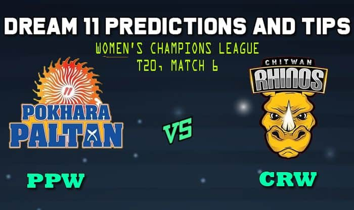 PPW vs CRW Dream11 Team Prediction: Captain and Vice Captain For Today Match 6 Women's Champions League T20 between Pokhara Paltan Women vs Chitwan Rhinos Women in Kirtipur at 8:00 AM