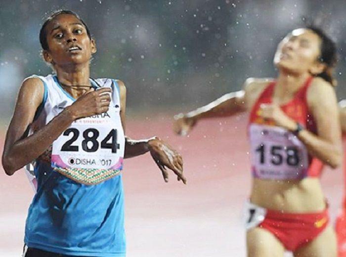 Athletics, World Athletics Championships, PU Chitra
