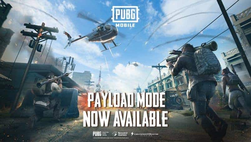 PUBG Mobile Payload Mode is now out