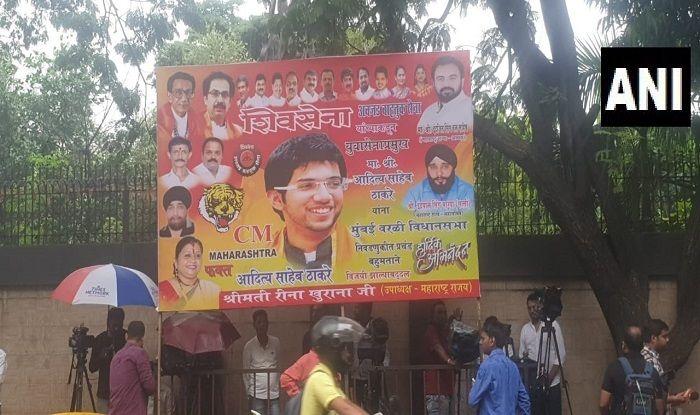 'CM Maharashtra Only Aditya Thackeray': Poster Put up Outside Matoshree