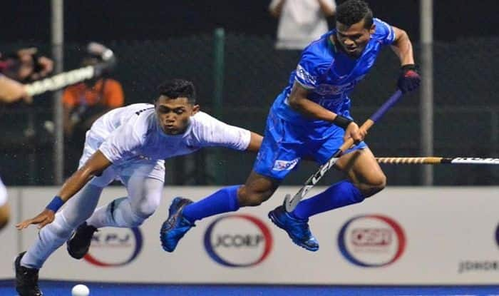 Sultan of Johor Cup 2019, Sultan of Johor Cup Hockey Tournament, Sultan of Johor Cup 2019 live streaming, Sultan of Johor Cup 2019 results, India junior men's hockey team, India junior hockey team, Latest Sports News, Pratap Lakra, Shilanand Lakra, Uttam Singh, Hockey India
