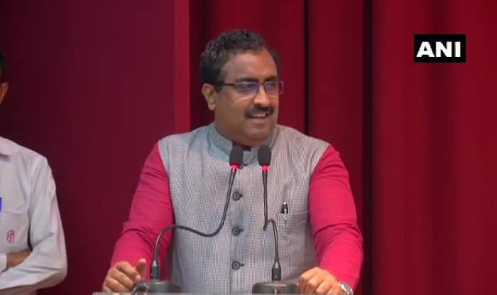 'This Diwali is Special For People of J&K,' Says BJP National General Secretary Ram Madhav