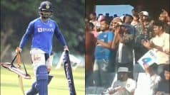 WATCH: 'Sporting' Crowd Chants 'Rishabh, Rishabh' in Dhoni-Land